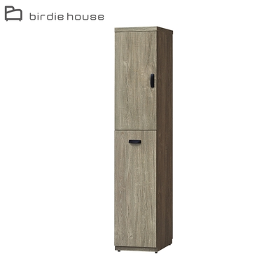 柏蒂家居-伊昂1.3尺左開二門鞋櫃/隙縫收納置物櫃/玄關櫃-40x40x189cm