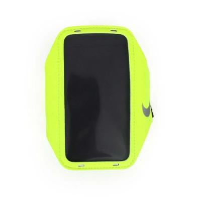 NIKE 輕量手機萬用臂包 螢光黃