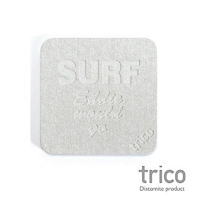 TRICO meets SURF速乾珪藻土杯墊/皂墊-SURF