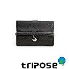 triposeYuppie系列經典LOGO鐵扣女中夾 (黑)