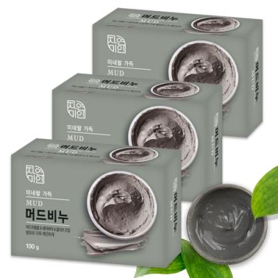 韓國 MKH無窮花 乳木果油保濕SPA放鬆香皂 3入