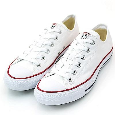 CONVERSE-男女休閒鞋M7652C-白