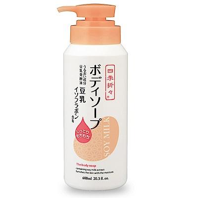 日本熊豆乳精華保濕沐浴乳 600ml