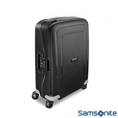Samsonite 新秀麗 20吋 S CURE 四輪 PP硬殼TSA扣鎖行李箱(黑)