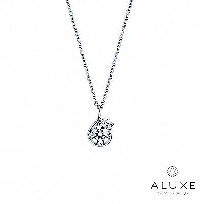 A-LUXE 亞立詩 0.30克拉FVS2 Venus 美鑽項鍊
