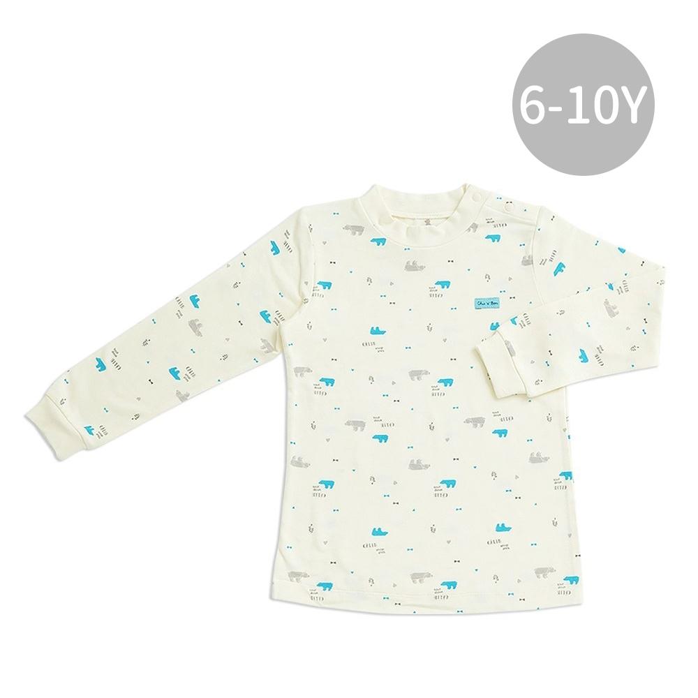 【限時滿額送玩樂劵】奇哥 摺紙趣高領衫-高效蓄熱恆溫布 6-10歲 (2色選擇)