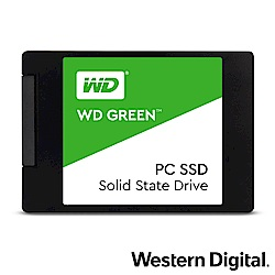 WD SSD 480GB 2.5吋固態硬碟(綠