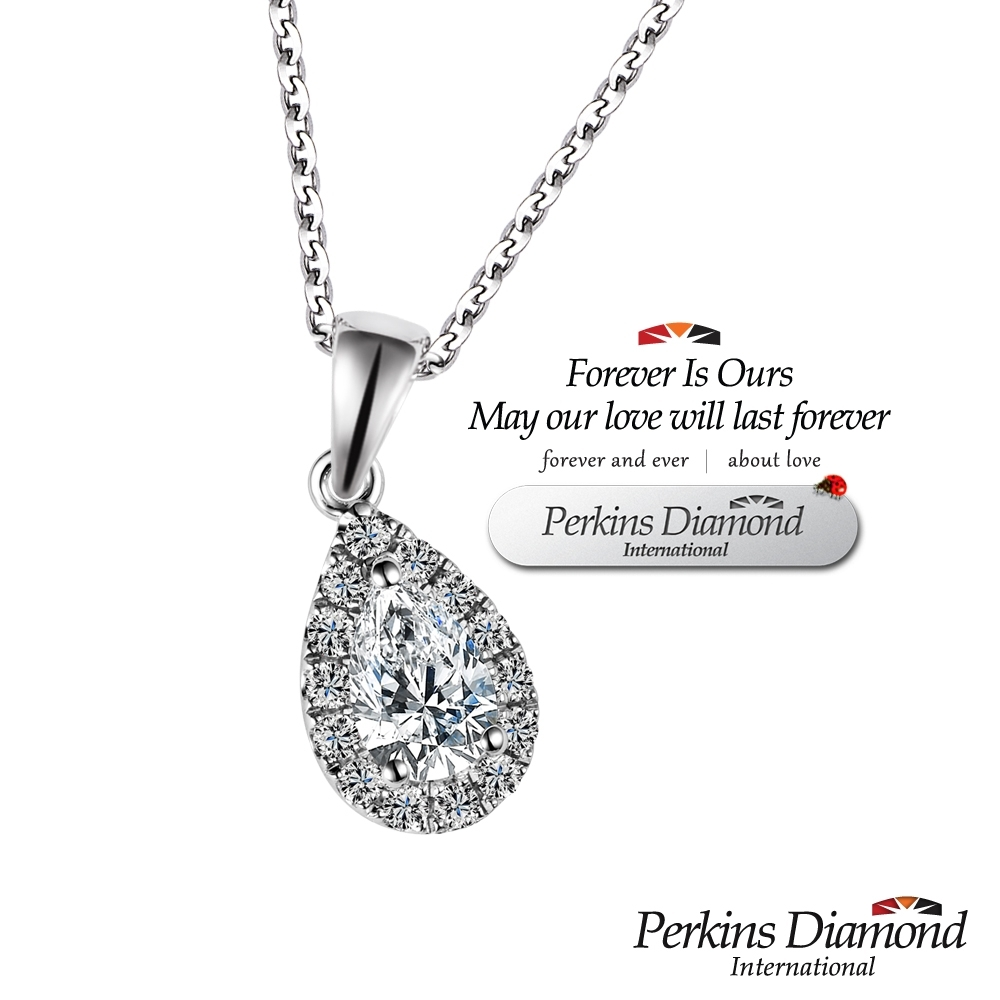 PERKINS 伯金仕 - GIA angel's tear系列 0.30克拉鑽石項鍊