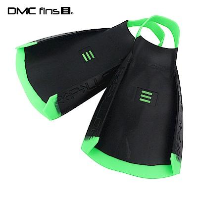 澳洲DMC 訓練用專業蛙鞋 黑綠 REPELLOR FINS