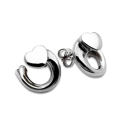 Georg Jensen 喬治傑生 2002年度設計師針式耳環