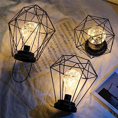 北歐風鐵絲造型氣氛燈