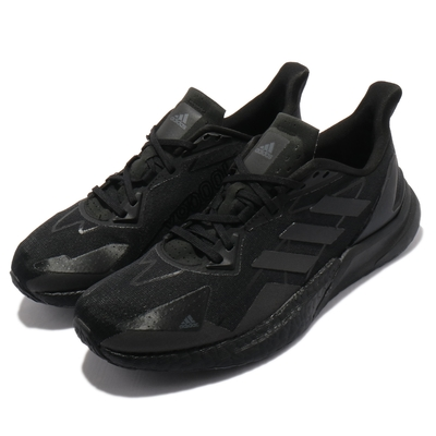 adidas 慢跑鞋 X9000L3 H.RDY 運動 男鞋 愛迪達 輕量 透氣 舒適 避震 路跑 全黑 FY0796