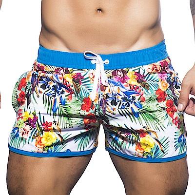 美國Andrew Christian 天堂藍游泳短褲