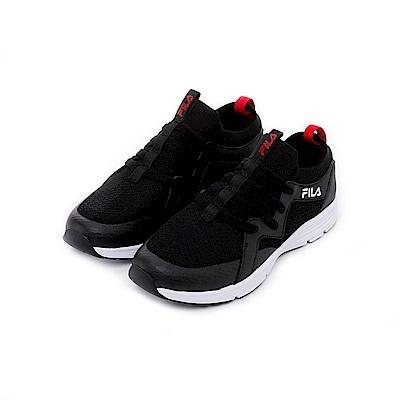FILA 男慢跑鞋-黑 1-J701T-021