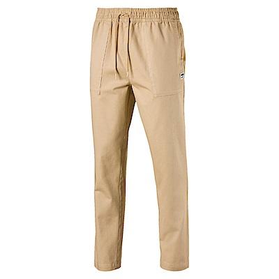 PUMA-男性流行系列Downtown開口長褲-褐灰黃-歐規