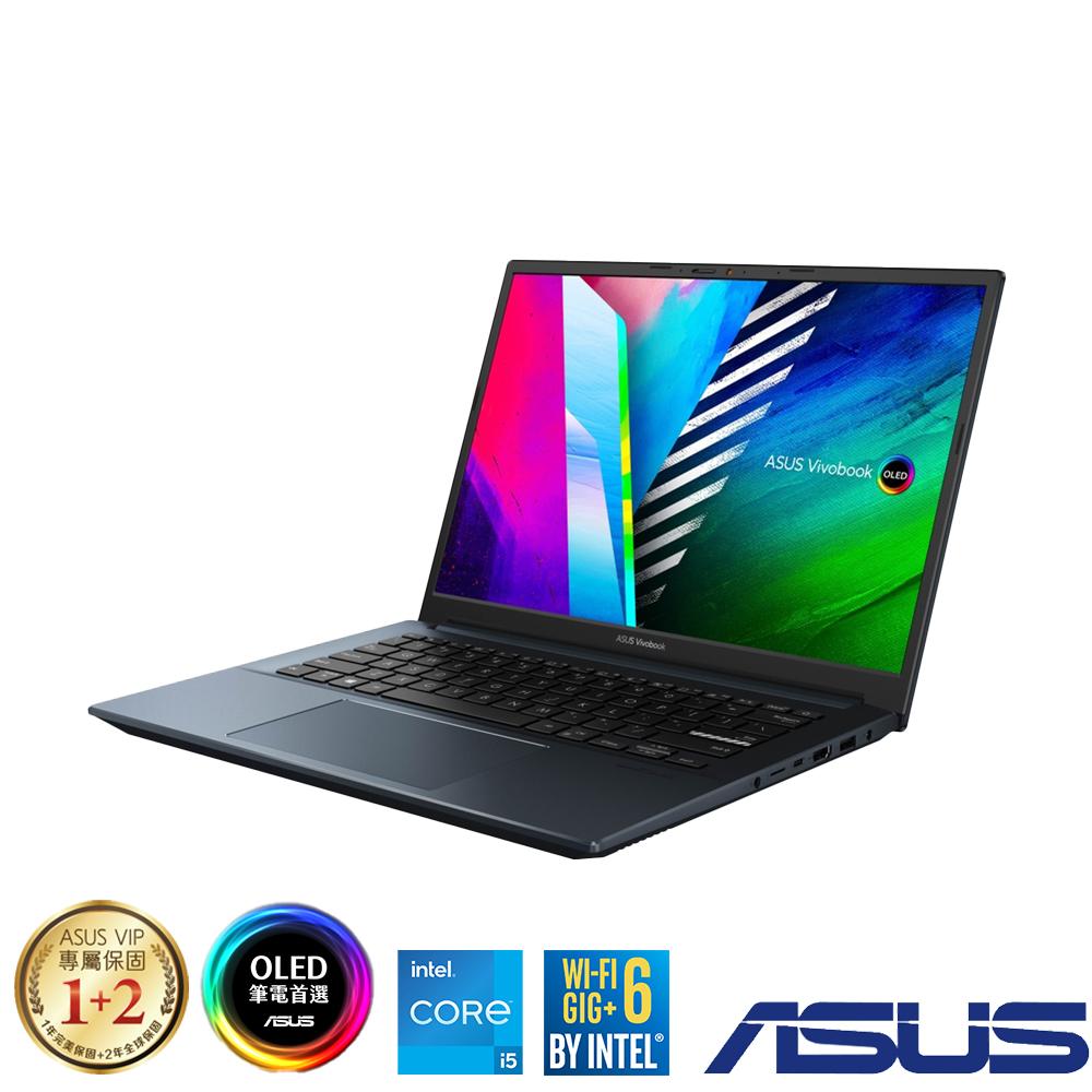 ASUS K3400PH 14吋筆電 (i5-11300H/GTX1650/16G/512GB SSD/Vivobook Pro 14 OLED/午夜藍)