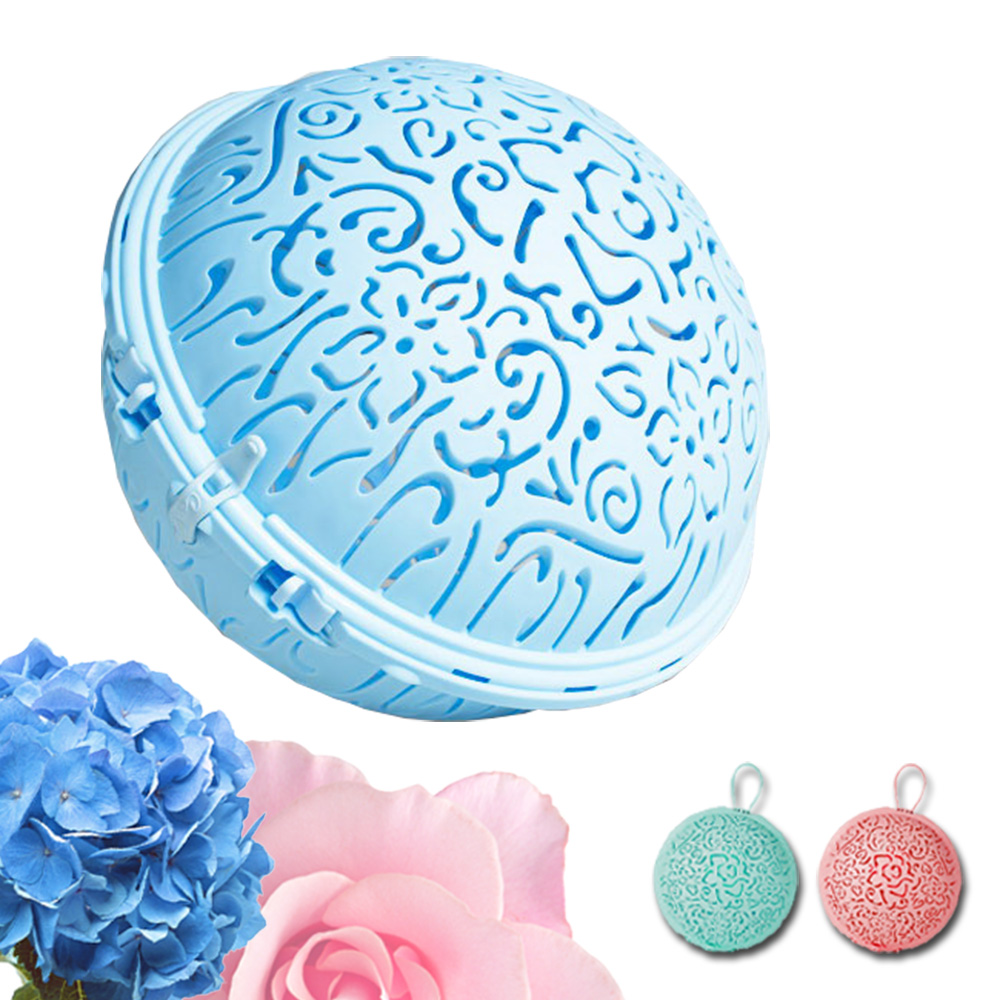 可而喜 創意達人第二代時尚花圈內衣球(2入) @ Y!購物