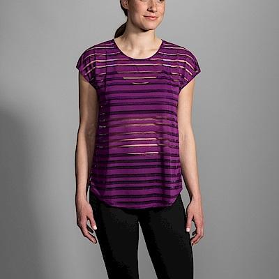BROOKS 女 HOT SHOT 外搭上衣 紫 (221337540)