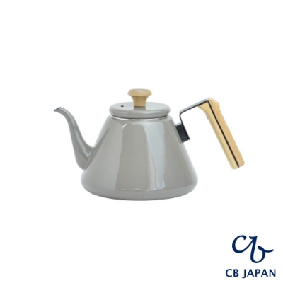 CB 都會系列琺瑯原木手沖壺/熱水壺/咖啡壺