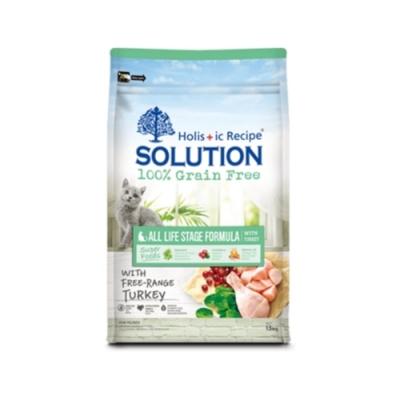 SOLUTION耐吉斯-無穀全齡貓化毛配方 16.5lbs(7.5kg)
