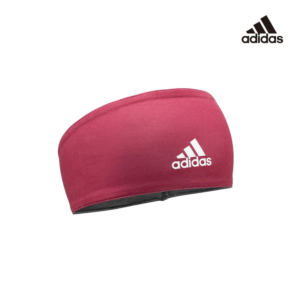 Adidas Yoga 雙面高彈性吸汗頭帶(勃根地紅)