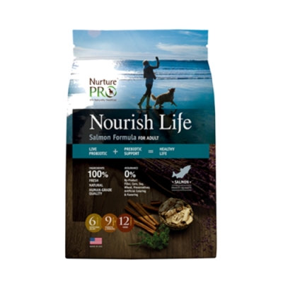 Nurture PRO 天然密碼-低敏鮭魚/成犬 4lb/1.8kg (NP-211018)