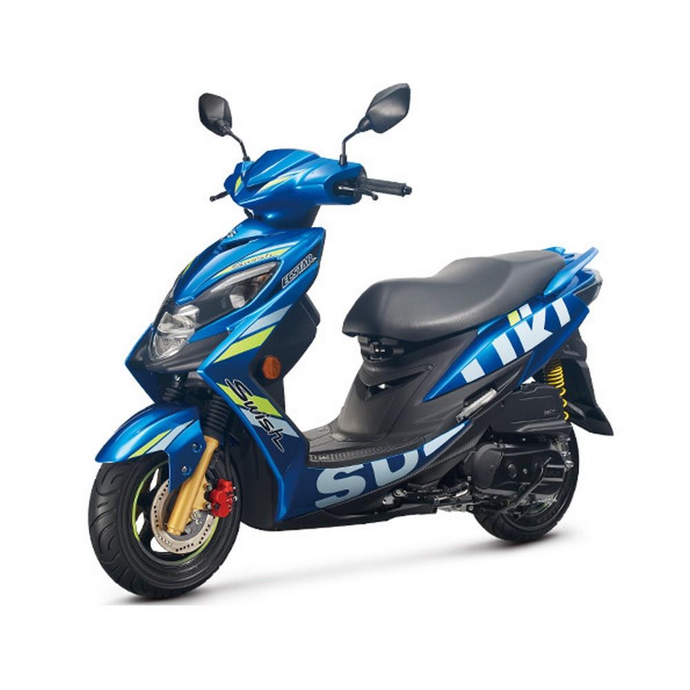 (無卡分期-24期)SUZUKI台鈴機車SWISH 125 MotoGP 六期噴射