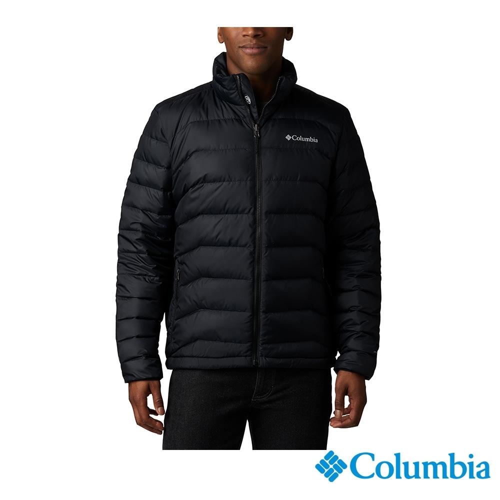 Columbia 哥倫比亞 男款- Omni HEAT 鋁點保暖羽絨外套-黑色