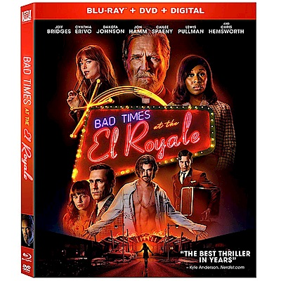 壞事大飯店 Bad Times At The El Royale  藍光 BD