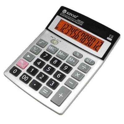 KINYO 桌上型12位元國家考試專用計算機