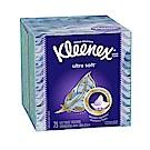 美國 Kleenex 頂級柔棉盒裝面紙-75抽(花色隨機出貨)