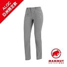 【Mammut】Trekkers2.0 防潑長褲 鈦金灰 女款#1021-00420