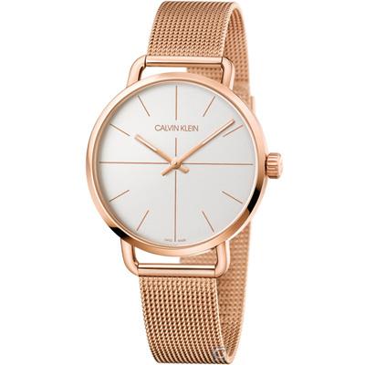 Calvin Klein K7B even 超然時尚腕錶(K7B21626)白42mm