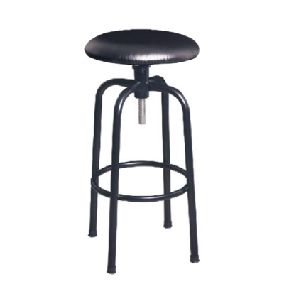 H&D 瑞士308黑皮吧椅