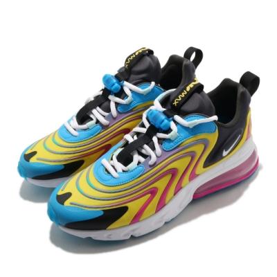 Nike 休閒鞋 Air Max 270 React 男鞋 氣墊 舒適 避震 簡約 球鞋 穿搭 藍 白 CD0113400