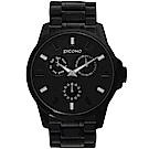 PICONO NO.91系列三眼多功能不鏽鋼手錶 / NO.9101