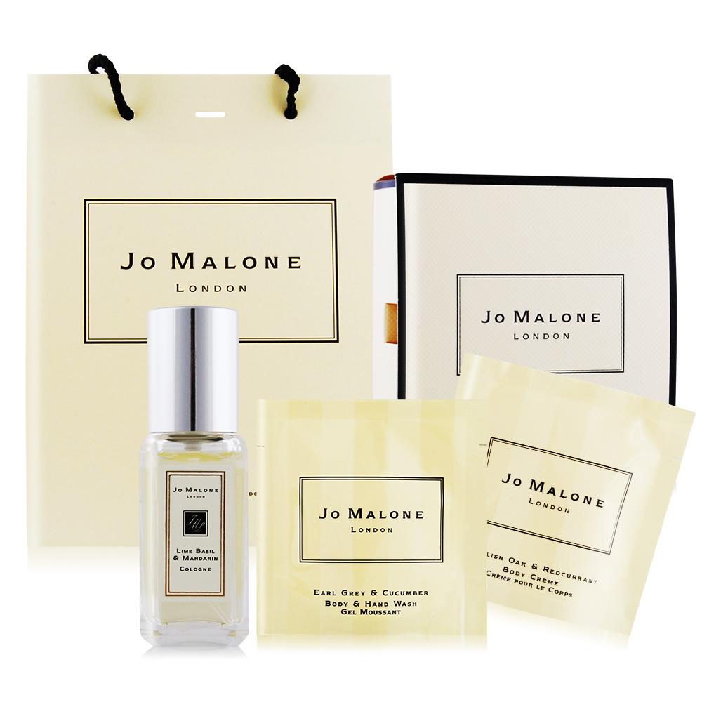 Jo Malone香膏/經典香氛組13款任選[香水+潔膚露+潤膚霜+香膏]加贈針管