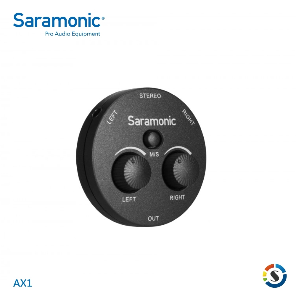 Saramonic楓笛 AX1 迷你型雙聲道混音器