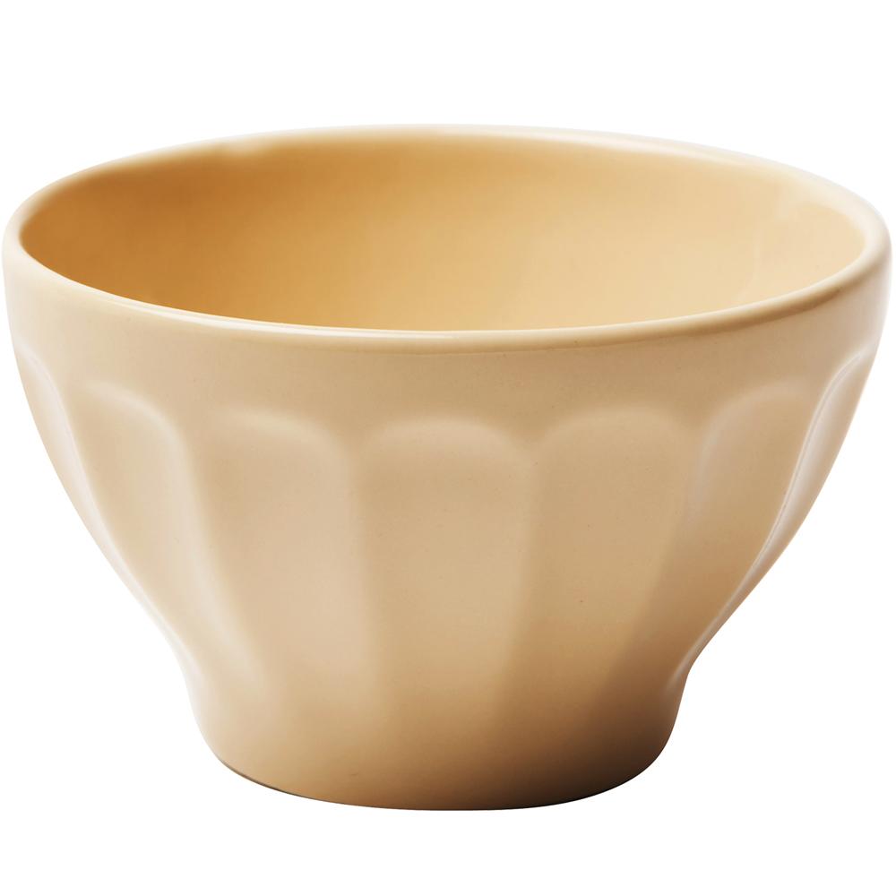 《EXCELSA》直紋餐碗(奶油黃10cm)