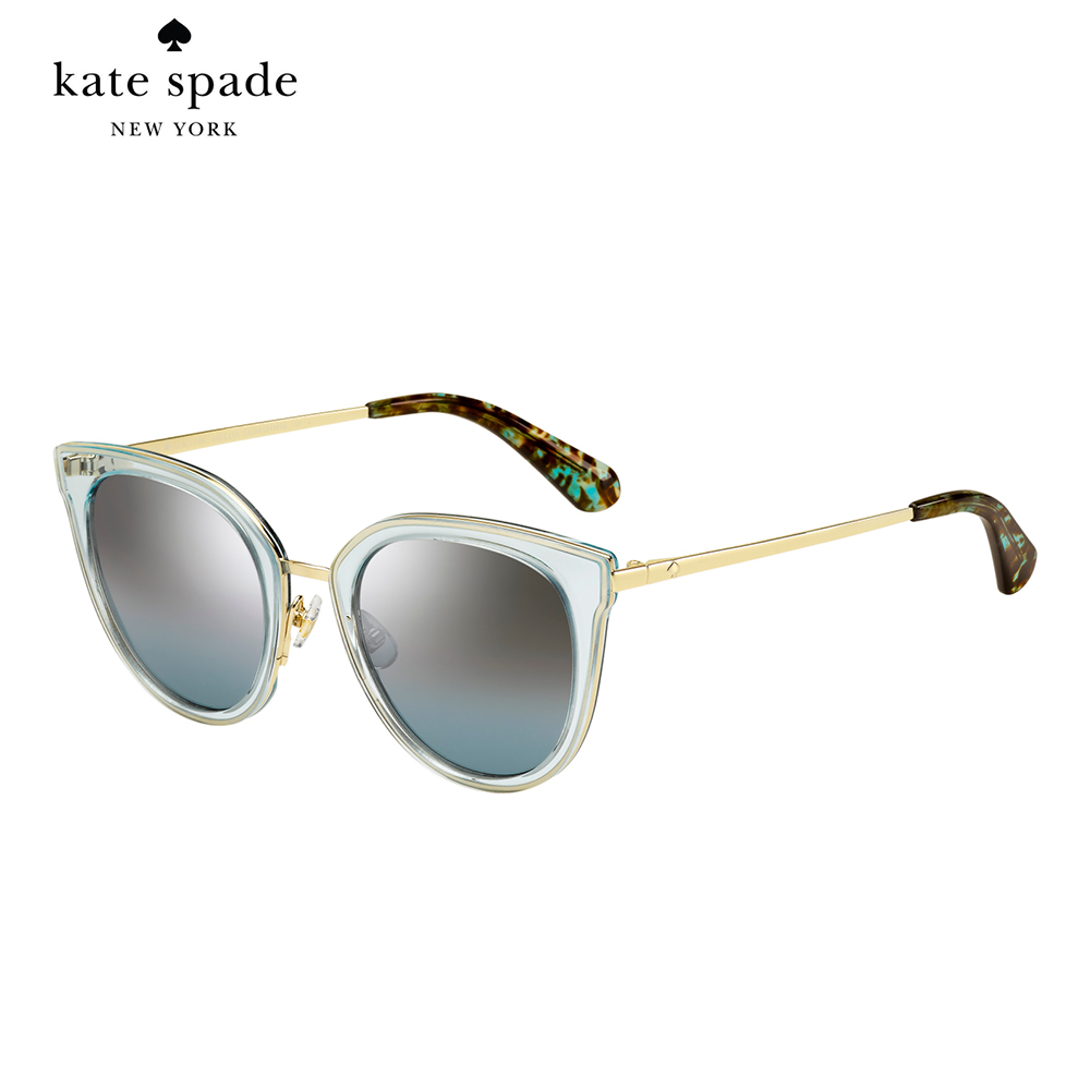 Kate Spade JAZZLYN/S-時尚貓眼太陽眼鏡 果凍色