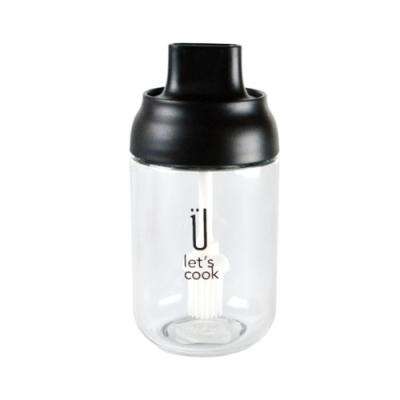 生活King 密封玻璃調味瓶(附刷)200ml
