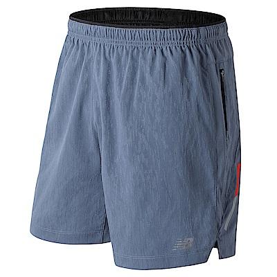 New Balance 運動短褲  AMS81267DPE 男性 灰色