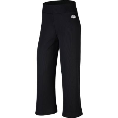 NIKE 寬褲 休閒 長褲 女款 黑 CU5357010 AS W NSW PANT RIB FEMME