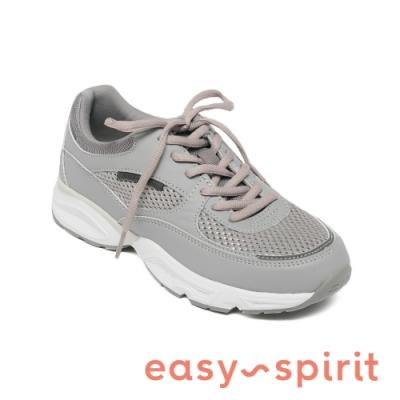 Easy Spirit-seGALAXIE3 復古綁帶休閒運動鞋-簡約灰