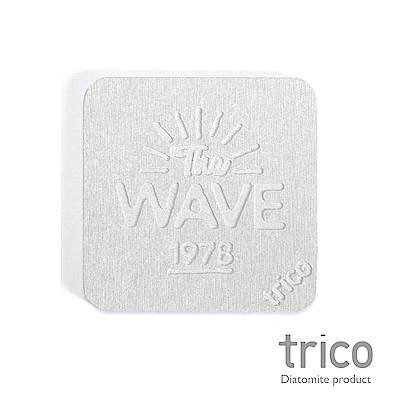 TRICO meets SURF速乾珪藻土杯墊/皂墊-The WAVE