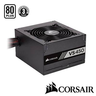 CORSAIR海盜船 VS Series? VS450 80Plus白牌 電源供應器