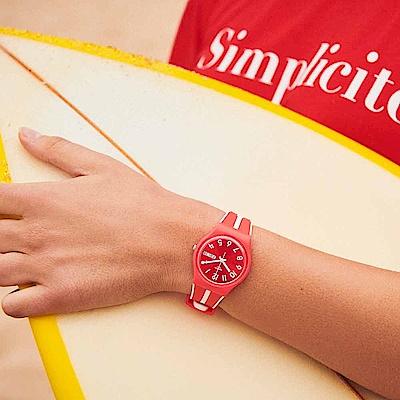 Swatch Energy Boost 系列 SANGUINELLO 熱帶紅橙手錶