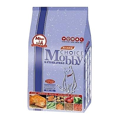 莫比Mobby 雞肉&米 挑嘴成貓 饕客配方 3KG 兩包組