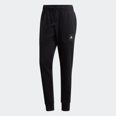 adidas 運動長褲 健身 訓練 男款 黑 FR7160 MUST HAVES STADIUM PANTS