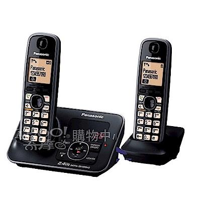 Panasonic 2.4GHz數位答錄無線電話組合 KX-TG3721+1 (黑)